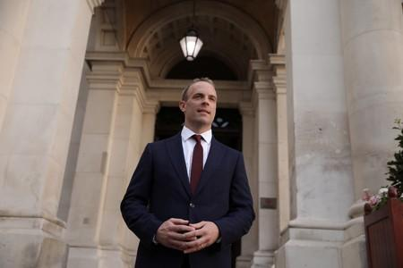UK's Raab seeks to boost post-Brexit ties with the Americas