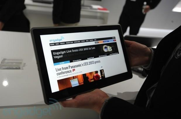 Vizio Tablet PC hands-on (update: now with video)