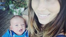 Justin Timberlake Posts First Photo of Baby Silas