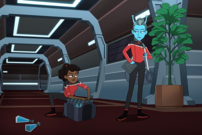 The 'Lower Decks' season two finale is Star Trek at its best