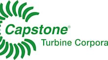 "Capstone Turbine (NASDAQ: CPST) Senior Director of Engineering and Quality, Don Ayers, to Participate in the Water Tower Research Virtual Fireside Chat Series, Covering ""Capstone's Strategy for the New Hydrogen Economy"""