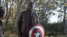 Anthony Mackie says it is 'monumental' to be playing a black Captain America