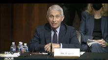 Dr. Fauci Tells Senate How We Can Turn Around Pandemic
