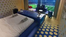 Booking.com sets up a suite with a view on the pitch in Wembley for the Euro 2020 final