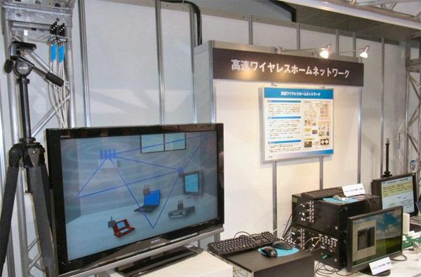 NTT showcases next-gen 802.11ac wireless LAN solution, hopes for near-term commercialization