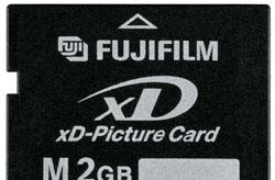 FujiFilm intros 2GB xD-Picture Card