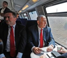 Netanyahu tests Israeli fast train from Jerusalem to Tel Aviv