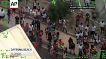 Police respond to crowds, shooting near Fla. beach