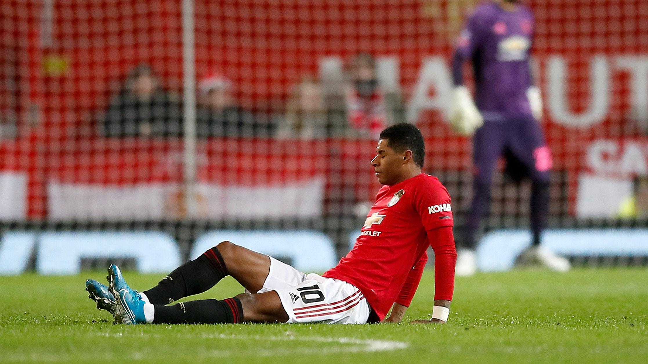 Marcus Rashford Determined To Return From Back Injury Stronger Than Ever