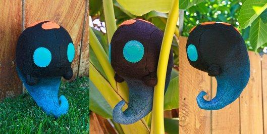 Bastion's Squirt made plush, adorable