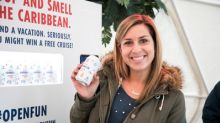 Carnival Cruise Line Pops #OpenFun, Bringing Island Warmth to Chilly New York City in a 'Scent-sational' Way