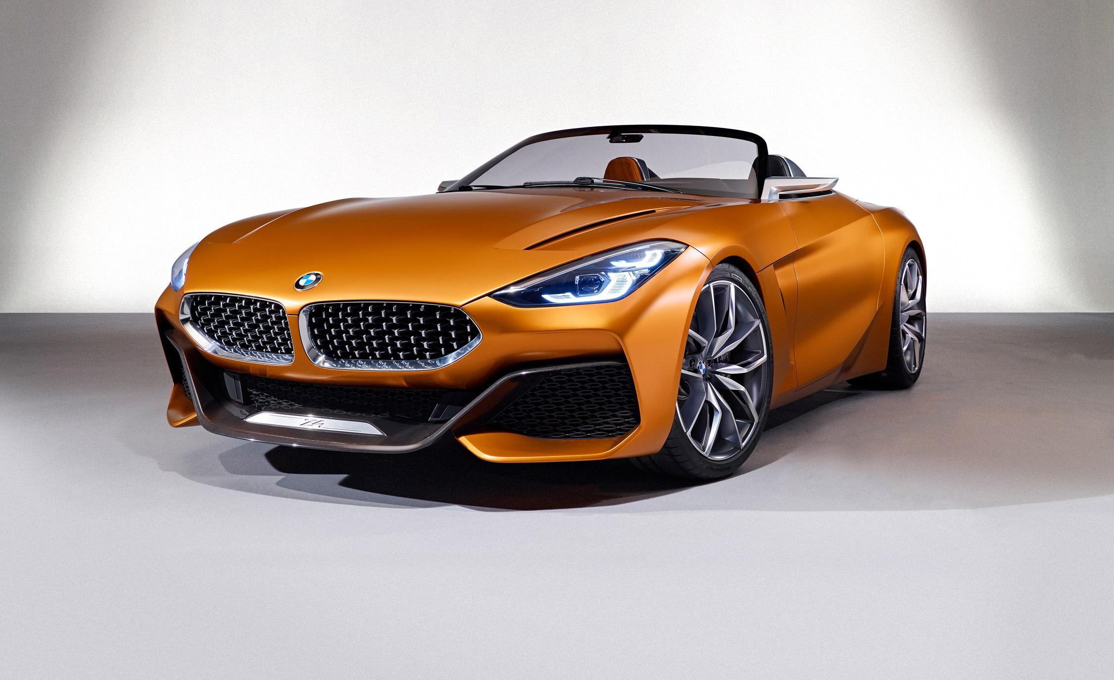 Bmw Concept Z4 Dissected Styling Powertrain Interior And More