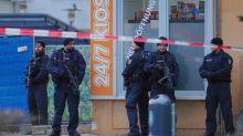 German gunman calling for genocide kills 9