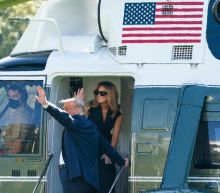 Fact check: Images show Melania Trump, not a body double