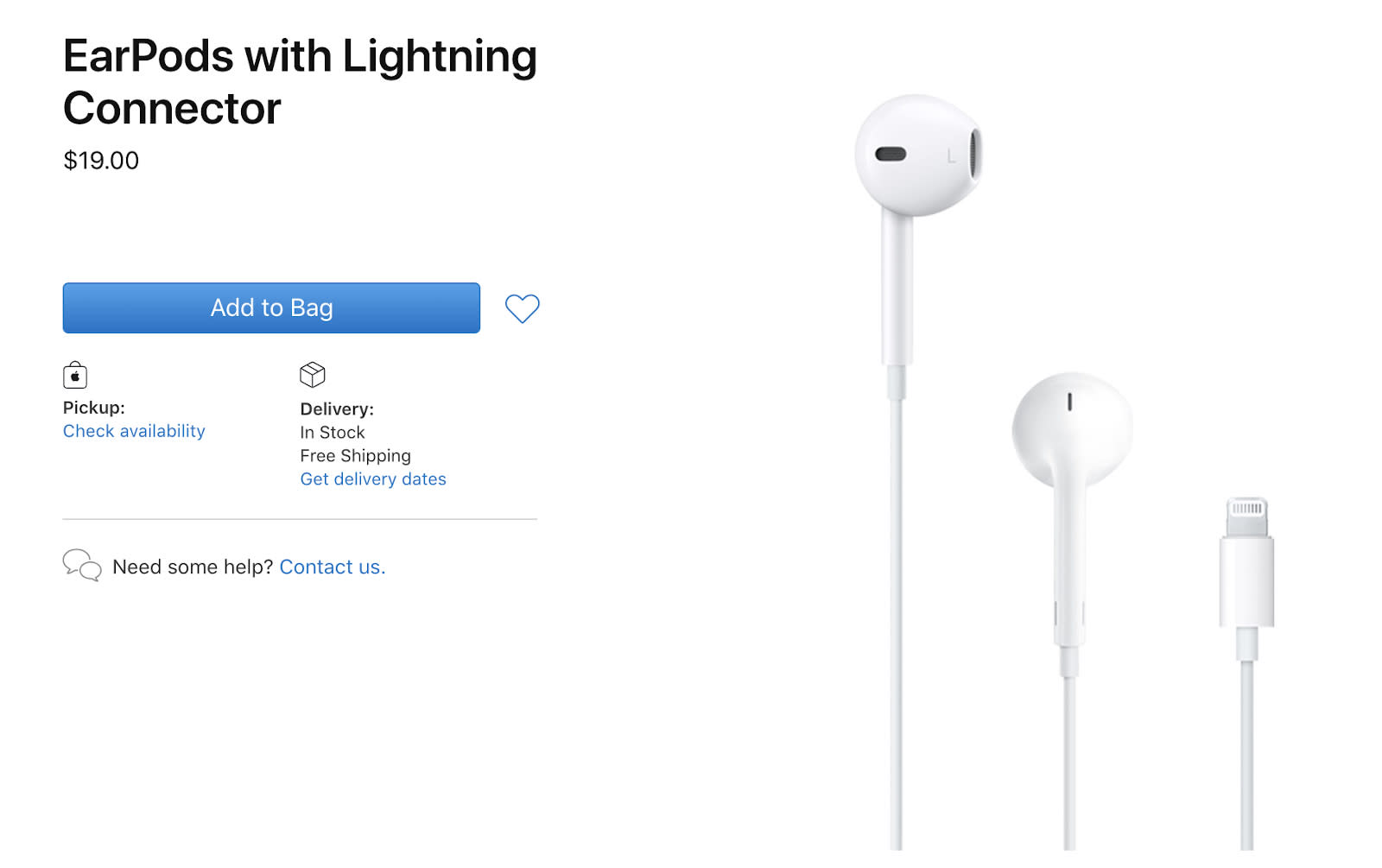 Apple cuts prices on EarPods and its iPhone power adapter by $10 | Engadget