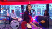 Michelle Branch performs 'Fault Line' in Times Square