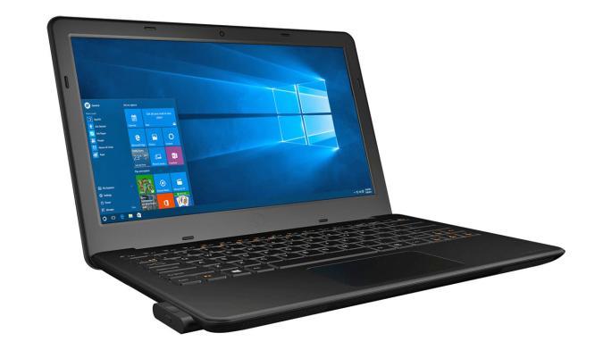 Kangaroo Notebook uses mini PCs to separate work and play
