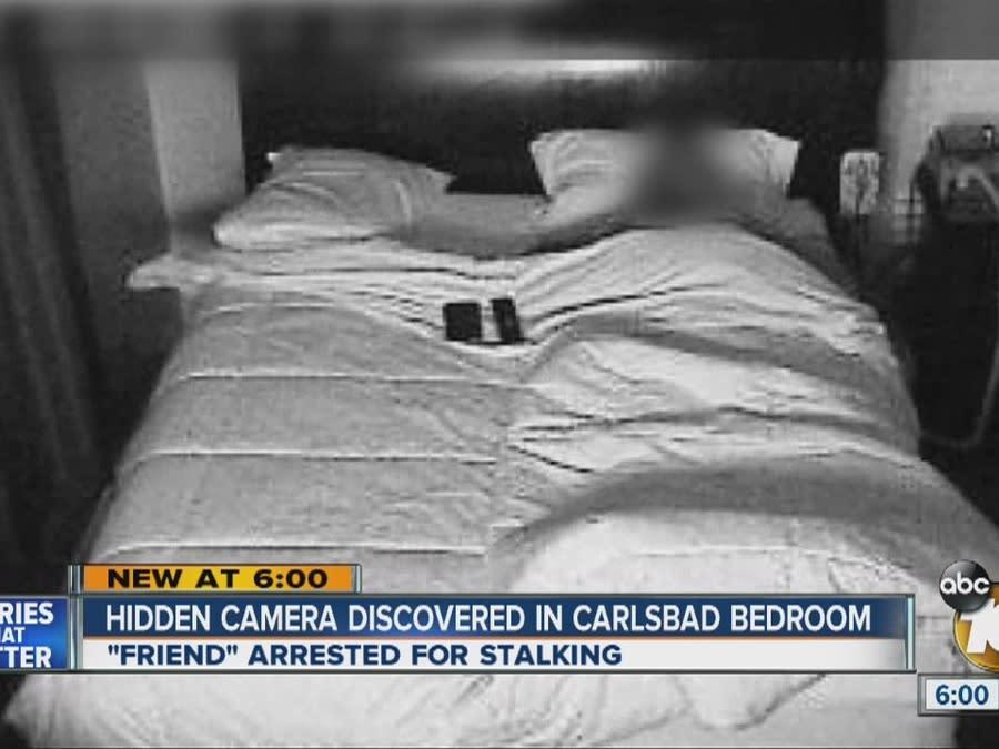 Hidden camera discovered in Carlsbad bedroom