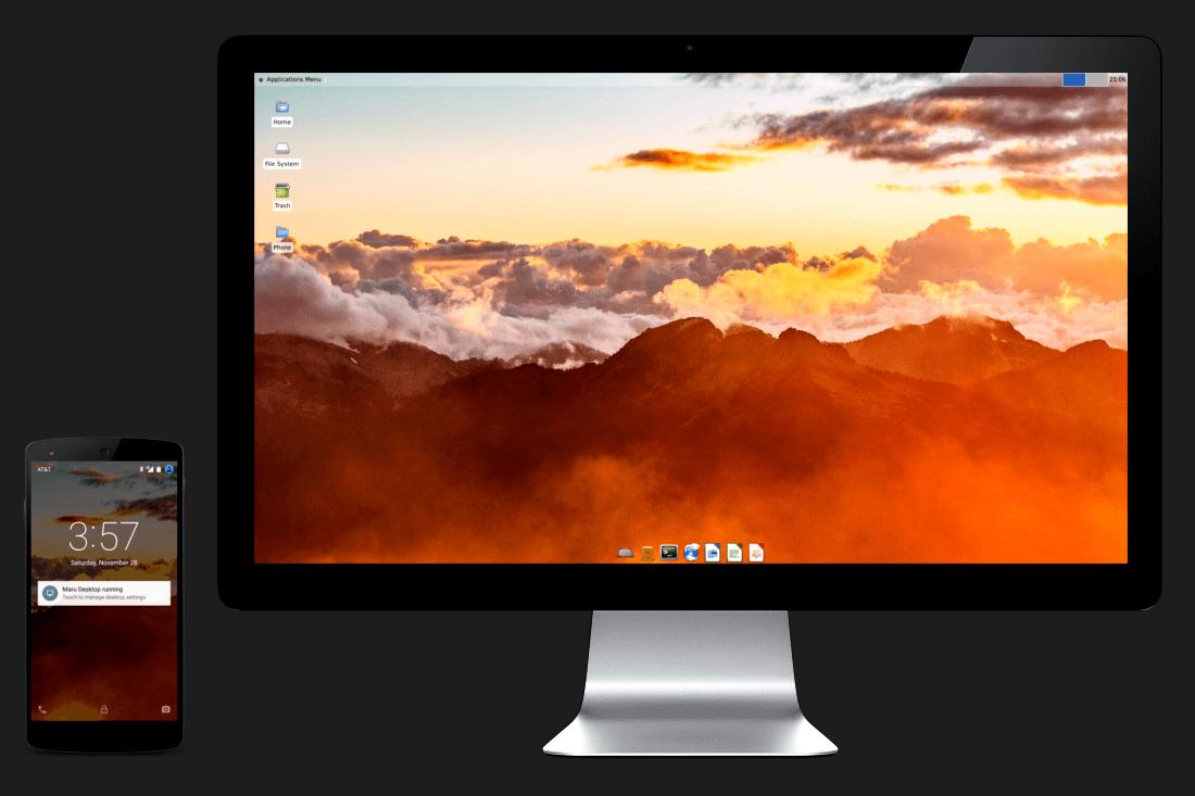 Maru OS finally arrives, promising a desktop experience ...