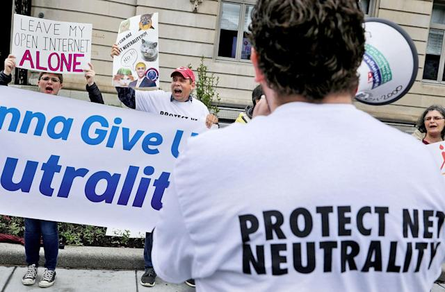 The FCC votes to move forward with gutting net neutrality