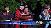 Welty's final commencement at Fresno State