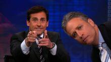 Jon Stewart, Steve Carell reunite for political satire Irresistible