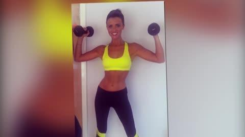 Lucy Mecklenburgh Shows Off Her Toned Body in Post-Workout Snap