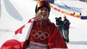 Cassie Sharpe wins gold in women's ski halfpipe