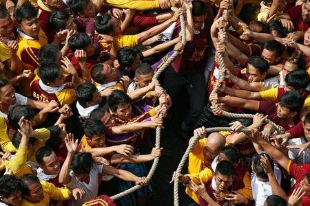 Millions of devotees in Philippines join Black Nazarene