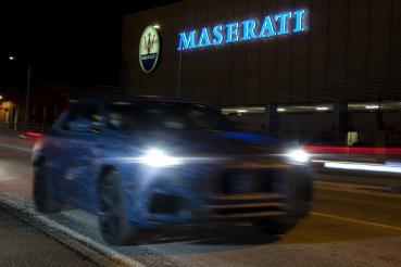 Maserati全新SUV Grecale原型車街頭實拍