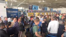 Stansted delays: Thousands of passengers' flights cancelled as lightning strikes spark bank holiday chaos at airport