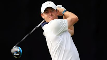 Rory plays well in first round of major, for once