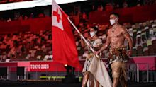The 'Hot Tongan' returns for third straight Opening Ceremony, but now he has competition
