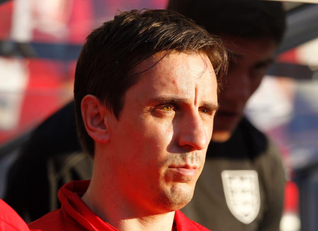 Gary Neville named Valencia coach