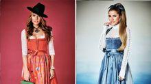 Oktoberfest-Inspiration: Diese Stars setzen mit ihren Kollektionen Wiesn-Trends