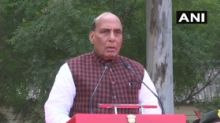 Defence Minister Rajnath Singh lays foundation stone for Thal Sena Bhawan in Delhi