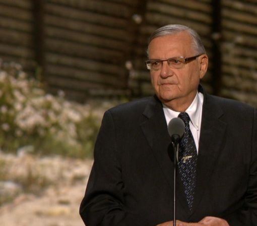 Sheriff Joe Arpaio Stumps for Trump at the RNC