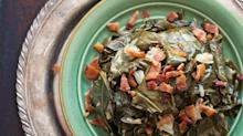 Soulful Collard Greens and Crisped Bacon from'Down South Paleo'