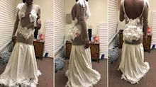 Mum shares daughter's prom dress fail on Facebook: 'Are you serious?'