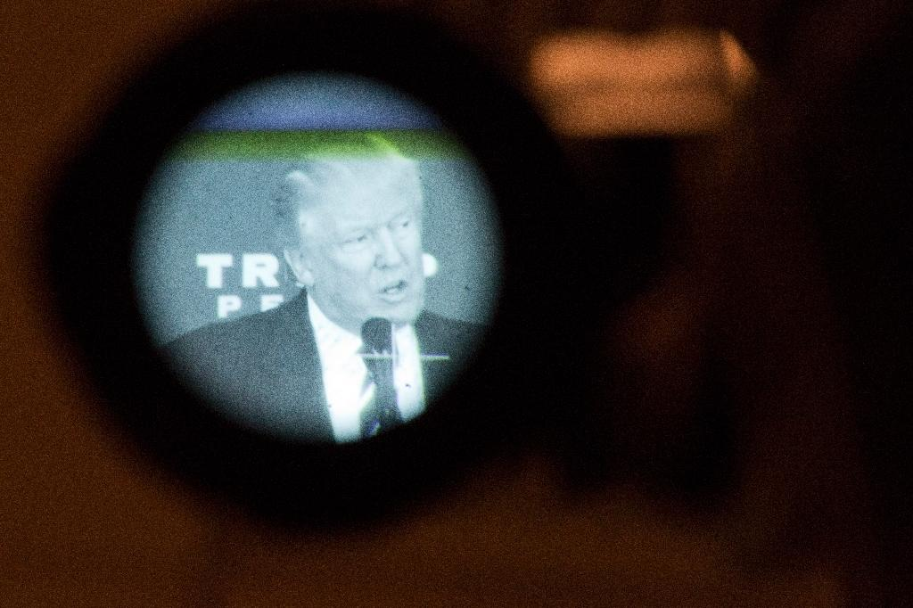 Donald Trump uses some of the oldest reality TV tricks in the books: cliff-hangers, drama, parading contestants to be interviewed, allowing surrogates to leak information and then carefully timing his official announcements (AFP Photo/DOMINICK REUTER)
