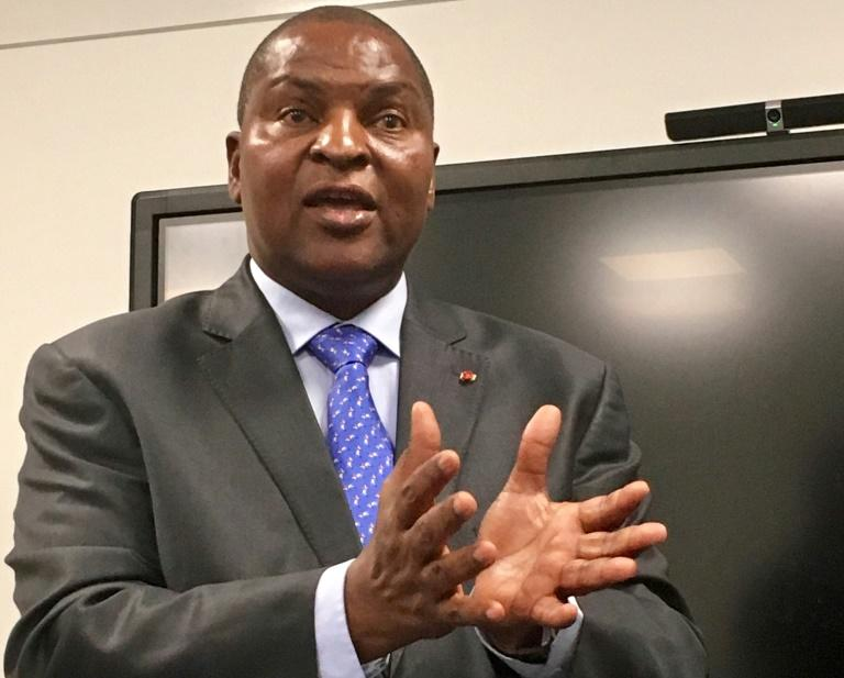 Vulnerable: Central African Republic President Faustin-Archange Touadera faces elections just four months from now
