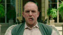 Un irreconocible Tom Hardy nos pone los pelos de punta como Al Capone