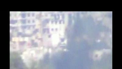 First reports of shelling in Damascus