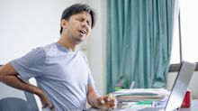 Lower back pains: past injuries or from old age, you can't avoid it