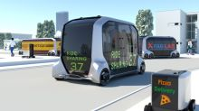 Toyota's e-Palette concept is a self-driving store that comes to you