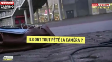 L'équipe : un caméraman de Carine Galli se prend un ballon en plein duplex (vidéo)