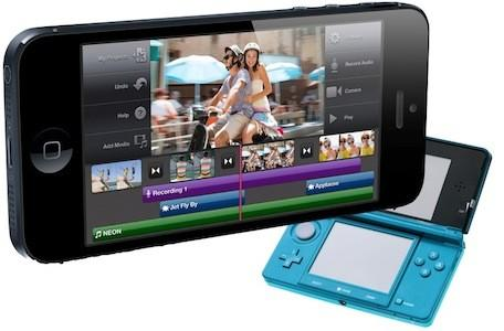 Consumer spending on mobile games tops that for portable consoles