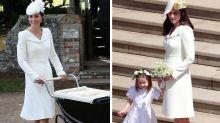 Herzogin Kate trug bei Prinz Harrys Hochzeit doch kein altes Outfit