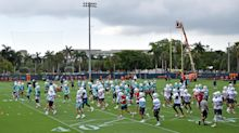 Look: Dolphins players visit new team facility on final day of camp