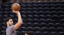 Klay Thompson returns for first practice with Warriors after ACL tear in 2019 Finals